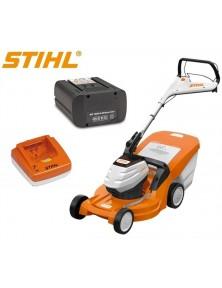 Акумулаторна косачка STIHL RMA 448 TC + две батерии и зарядно