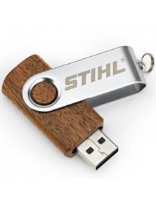 Дървена флашка STIHL 16 GB