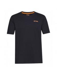 Тениска черна STIHL LOGO-CIRCLE