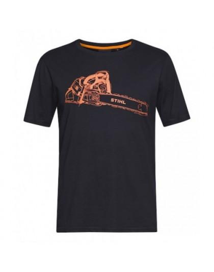 Тениска черна STIHL MS 500i