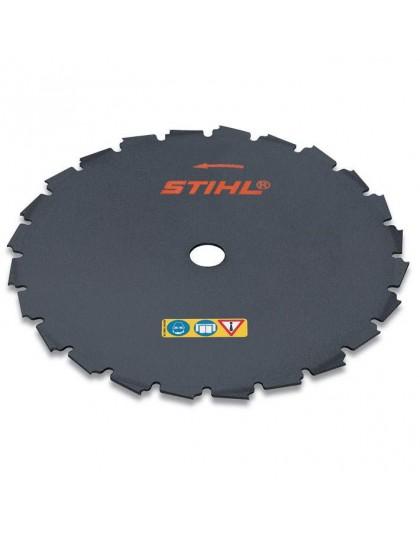 Циркулярен диск за храсти STIHL - с плоски зъби, 25.4 mm