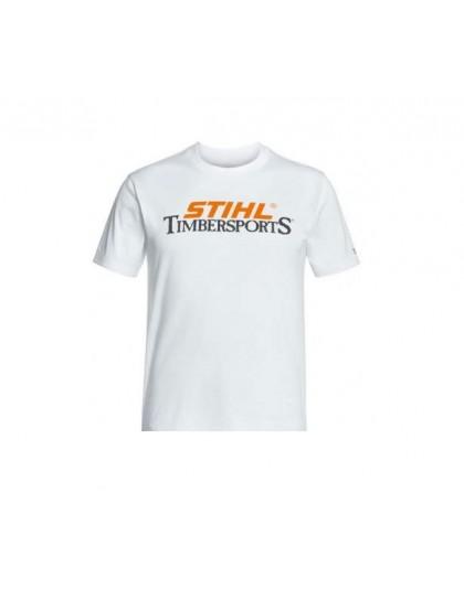 Тениска бяла STIHL TIMBERSPORTS