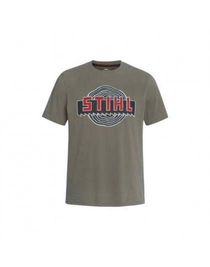Тениска Heritage STIHL зелена