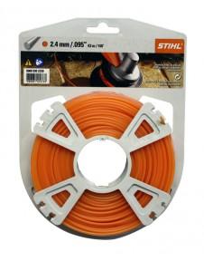 Петоъгълна корда STIHL - 2.4 mm 48 m