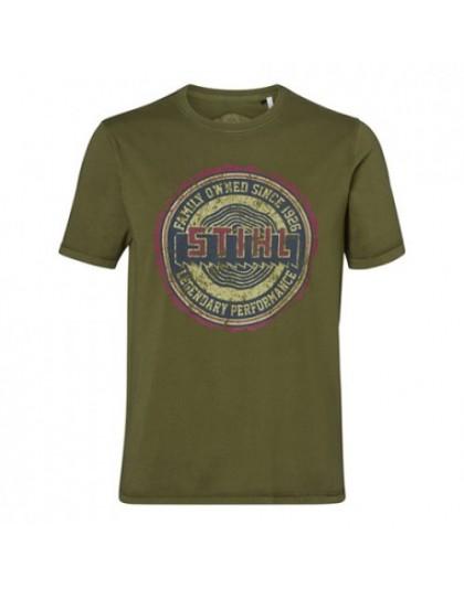 Тениска STIHL Heritage зелена