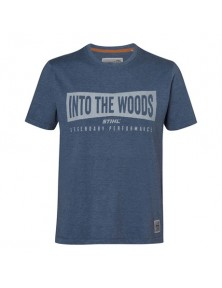 """Мъжка тениска """"WOOD"""" STIHL синя"""