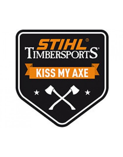 Малка лепенка STIHL KISS MY AXE TIMBERSPORTS