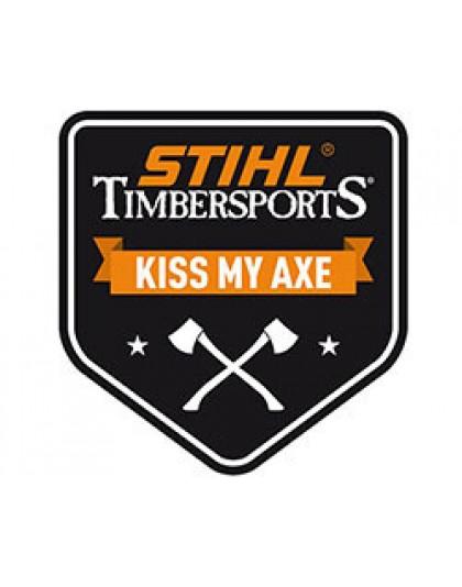 Голяма лепенка STIHL KISS MY AXE TIMBERSPORTS