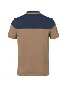 Тениска с яка STIHL пясъчножълта