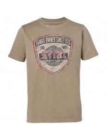 Пясъчножълта тениска Family Owned STIHL