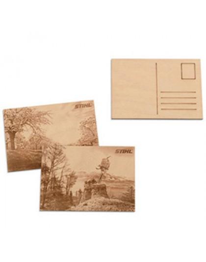 Комплект дървени пощенски картички STIHL