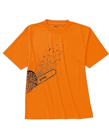Оранжева тениска DYNAMIC Mag Cool STIHL