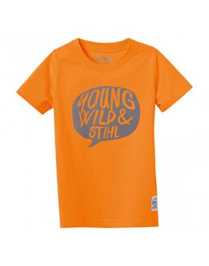 Оранжева детска тениска YOUNG WILD STIHL