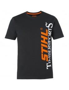 Черна тениска STIHL TIMBERSPORTS