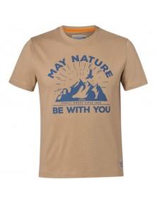 Тениска May Nature STIHL пясъчножълта