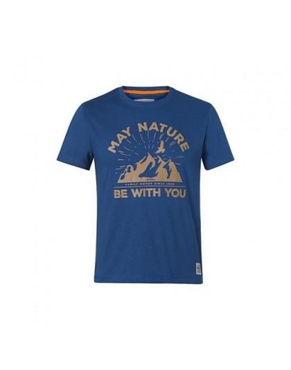 Тениска May Nature STIHL синя
