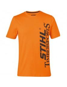 Оранжева тениска STIHL TIMBERSPORTS
