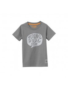 Тъмносива детска тениска YOUNG WILD STIHL
