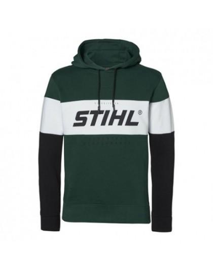 Зелен мъжки суитчър STIHL