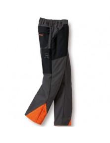 Панталон STIHL ECONOMY PLUS в тъмносив-яркооранжев цвят